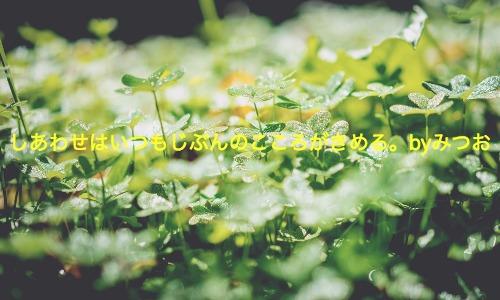 「幸せはいつも自分の心が決める」を考える(お金は幸せを担保しない)
